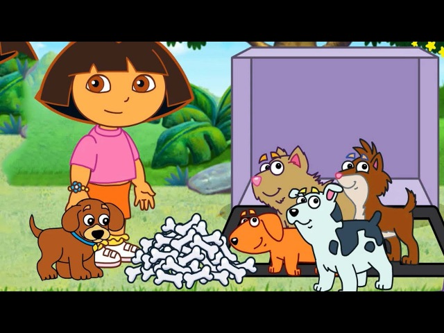 Dora's Puppy Adventure Gameplay Games for children