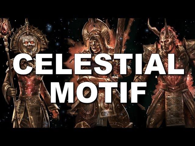 ESO Celestial Motif - Armor Weapons - Elder Scrolls Online