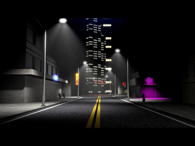 [SFM Ponies] Neon Night [Animated Poster]