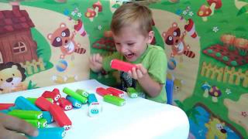 Stack Game - пластикова Дженга для діточок