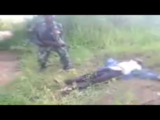 Massacre In The Congo - 'Look They Are Dying' - Massacre of Civilians by Congolese Soldiers