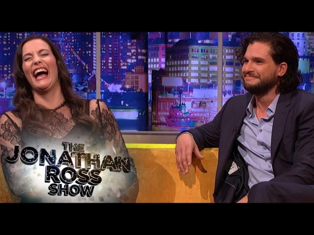 Kit Harington And Liv Tyler Share Engagement Stories - The Jonathan Ross Show