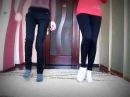 Девочки танцуют *Драм степ*