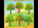 Учимся считать Яблоневый сад/ Математика для детей / Обучающее видео