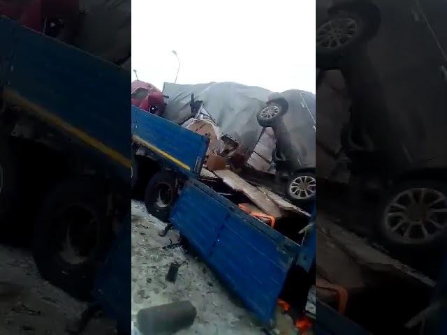 Авария на трассе М 4 в Ростовской области