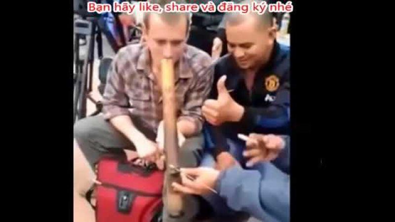 Phế thuốc lào, ♥ Top những pha ♥ phê Thuốc lào ♥ Việt Nam của các anh Tây đẹp trai