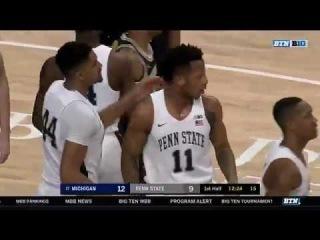 Michigan vs Penn State Basketball 2018 (Feb. 21)