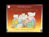 Tami Reads The Large Family A Quiet Night In By Jill Murphy