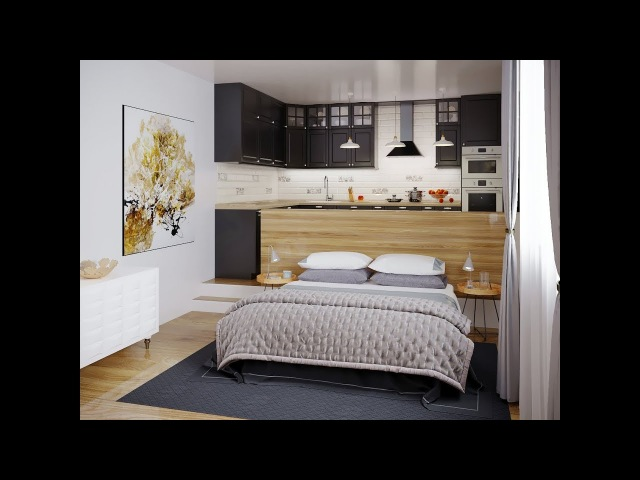 Small apartment design Modeling Tutorial in 3ds max corona render