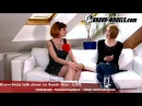 BravoSexy talk show 06 2018 se Sarah Star guest TOM DIAMOND Androgenic model
