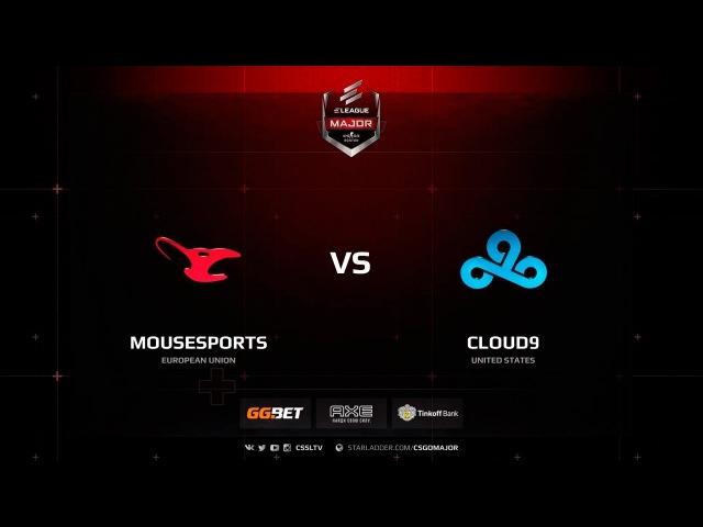 Mousesports vs. Cloud9 @ de_train