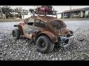 Custom Apocalypse Tamiya Sand Scorcher Build Electronics and First Drive Plus Sweet Jumps
