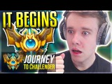A NEW JOURNEY BEGINS! LET'S GO - Journey To Challenger  League of Legends
