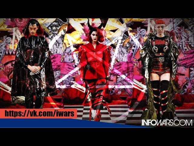 Алекс Джонс: Показ мод в стиле сатанизма прошел в католической церкви в Лондоне