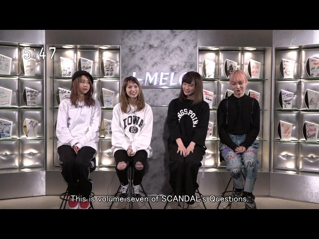 SCANDAL's Questions vol.7 (subs)