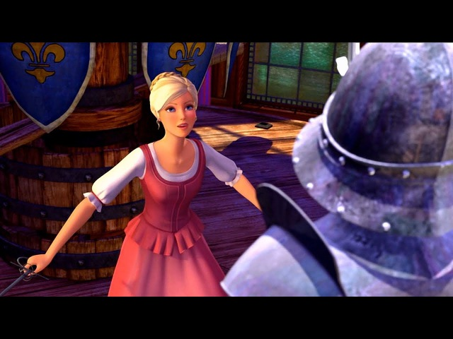 Barbie and the Three Musketeers - Training -