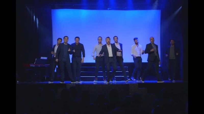 Les comédiens (Charles Aznavour), репетиция