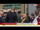 The Duke of Cambridge arrives at Manchester Cathedral where hell be giving a reading at the ManchesterArena attack memorial serv