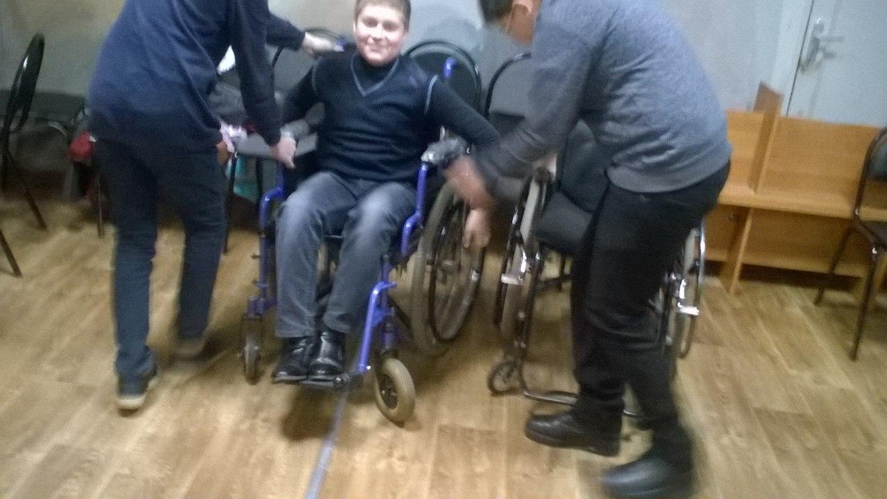 «Включись в иную жизнь. С высоты инвалидной коляски» для учащихся 32 школы