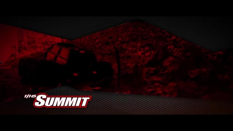 Новый Traxxas Summit 1\18 с 550 мотором