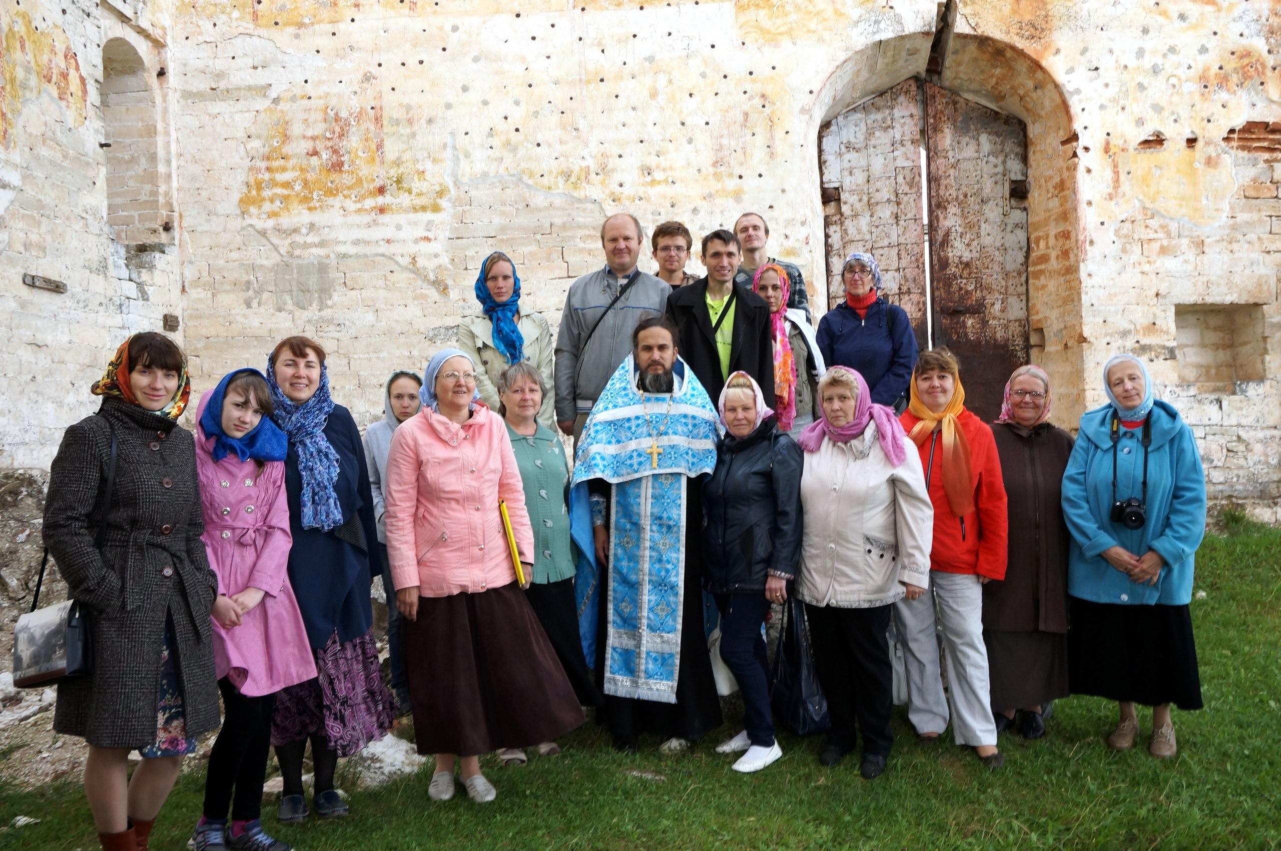 Поездка в Краснохолмский Антониев монастырь