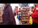Ненормальная бабка в одном из магазинов Краснодара