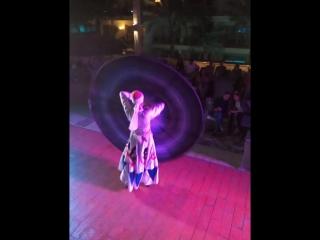 танец с юбкой