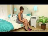 Sarah James, Sarah McDonald in bed naked