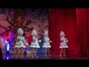 Новогодняя считалочка в исполнении 6 летних участников вокальной студии Даринки Полины Ани Кати и Евы