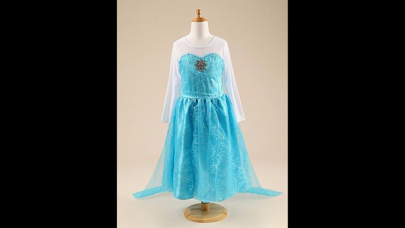Платье Эльзы Модель 4