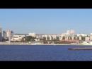Панорама Саратова с борта теплохода Дмитрий Фурманов .
