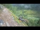 mountain biking HOLY SHIT!