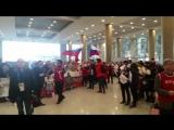 ?? Катюша! Сборную России по хоккею мощно встретили в Корее