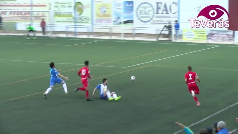 Вильяррубия CF - UD Альмерия Б, 1-4, Терсера 2017-2018, 1/4 нечемпионского плей-офф, 1 матч
