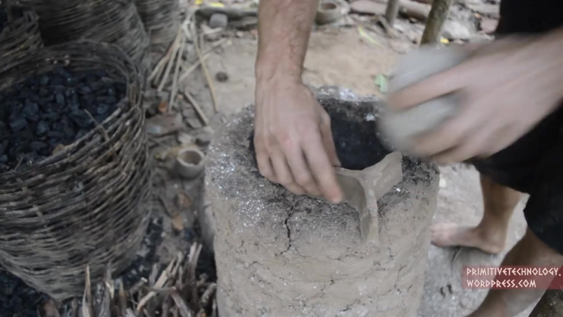 Primitive Technology_ Simplified blower and furnace experiments