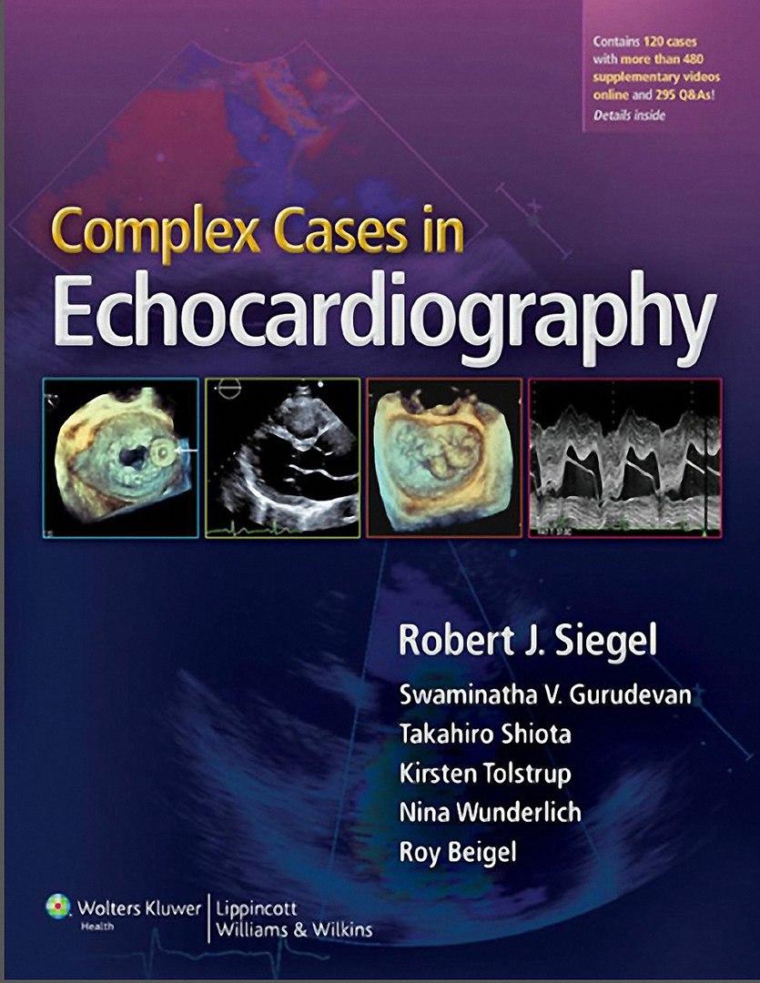 Complex Cases Echocardiography Robert Siegel