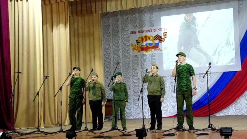Быть мужчиной в исполнении Мальчиков вокальной группы Непоседы в Советском Детская школа искусств (рук. Н. Абтишаева)
