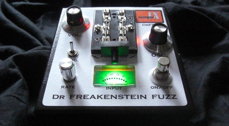 Rainger FX - Dr. Freakenstein Fuzz DrFF-3 (PRS Custom 22)