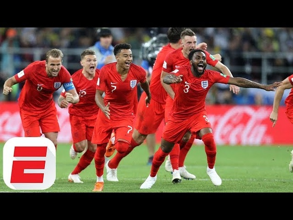 England Fans Go Crazy Celebrating World Cup Penalty Shootout Win Over Colombia