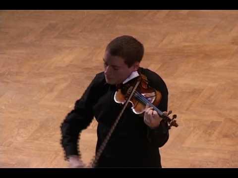 J. S. Bach: Sonata for solo violin in g minor, Siciliano (Kristóf Baráti)