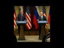 Реакция Трампа на слово факт созвучное английскому слову fuck