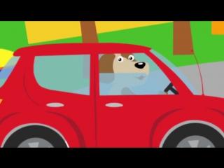МАШИНКИ - Развивающая веселая детская песенка мультик малышей про разные машины