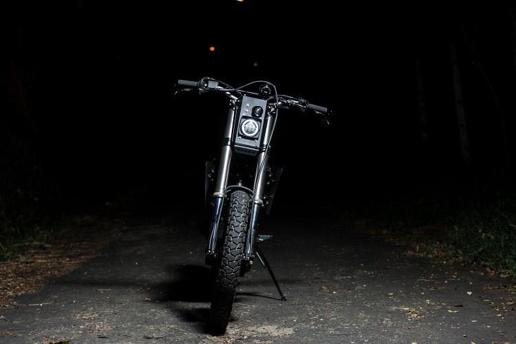 Ace Custom Shop: стрит-трекер Yamaha WR250
