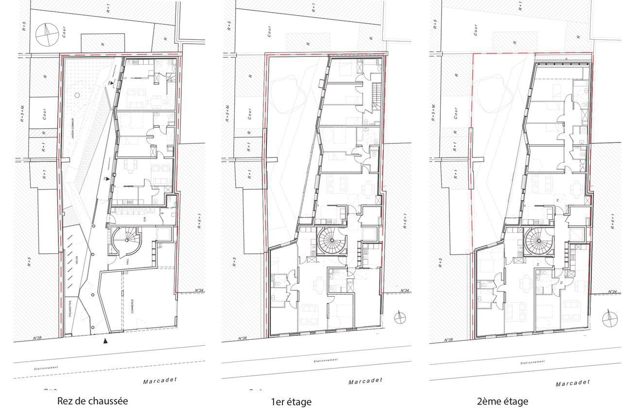 Mercadet / Verdier   Rebiere architects   F.
