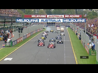 Australia 2002: First corner carnage