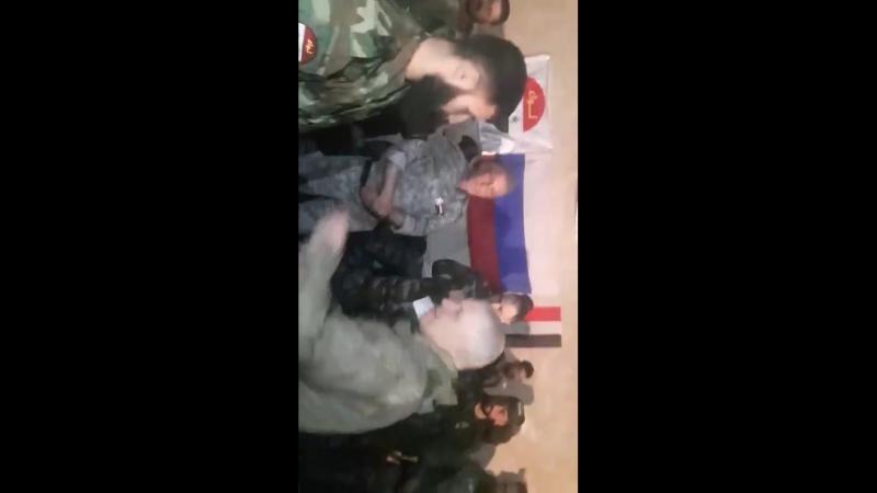Российская армия чествует геров Лива Аль-Кудс, участвовавших в освобождении Восточной аль-Гуты