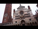 Cremona Italy Duomo Torrazzo Piazza Campanile Public Domain Video