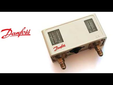 Замена и настройка реле давления Danfoss KP-15.