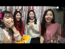 171220 GaYoungs Instagram Live 02 feat MinHee HyoEun Jeonyoul Fit Mobile With Chat Ver