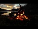 Озеро костёр вот она северная природа и вся красота её !